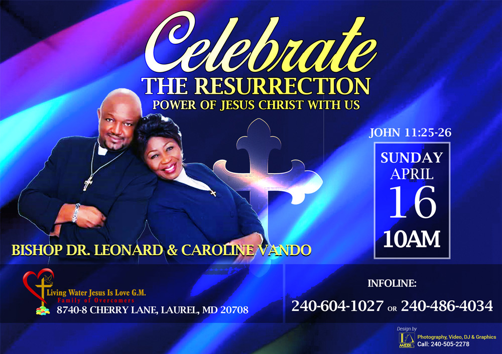 Celebrate the Resurrection Power